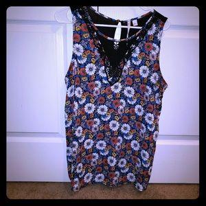 Lauren Conrad floral dress tank